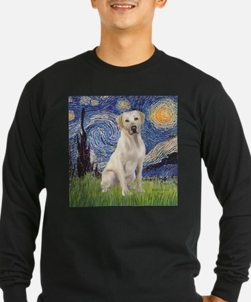 StarryNight (T) - YellowLab7 Long Sleeve T-Shirt