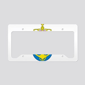 Coat of arms of the royal nor License Plate Holder