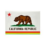 Gay California Rectangle Magnet (100 pack)