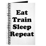 Eat Train Sleep Repeat Journal