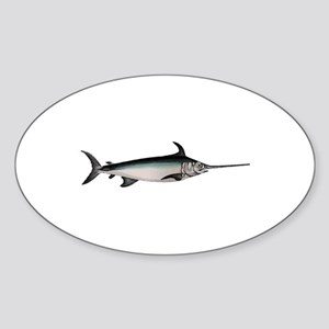 Swordfish Logo Sticker