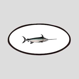 Swordfish Logo Patches