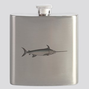 Swordfish Logo Flask