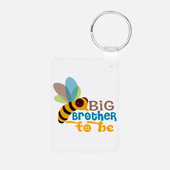 Big Brother To Be Aluminum Photo Keychain