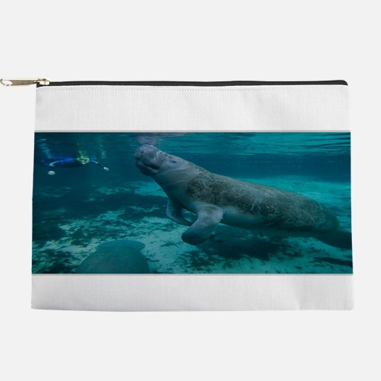 Manatee Makeup Pouch