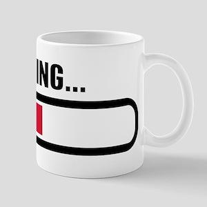 Thinking loading Mug