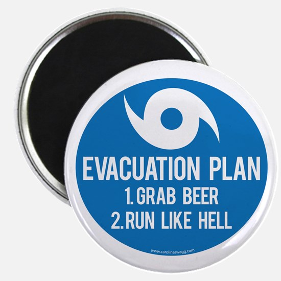 Hurricane Evacuation Plan Magnet