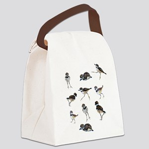 Plover Chicks Canvas Lunch Bag