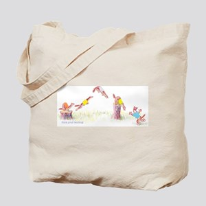 Stick Your Landing Tote Bag