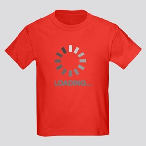 Loading bar internet Kids Dark T-Shirt