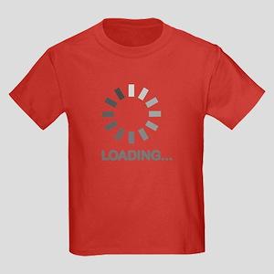 Loading bar internet Kids Dark T-Shirt