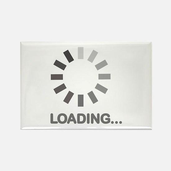 Loading bar internet Rectangle Magnet