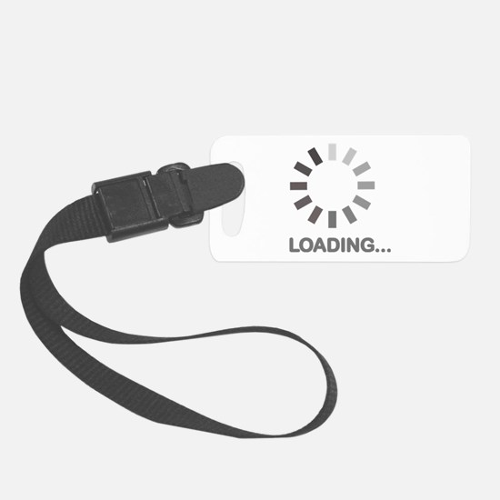 Loading bar internet Luggage Tag
