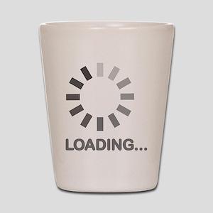 Loading bar internet Shot Glass
