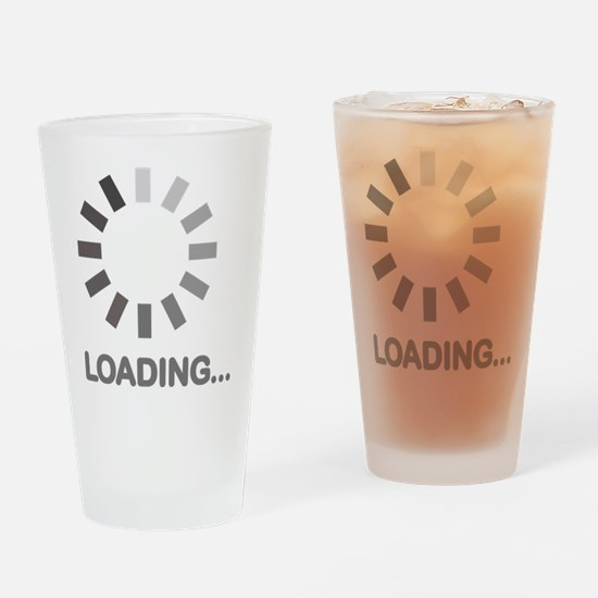 Loading bar internet Drinking Glass