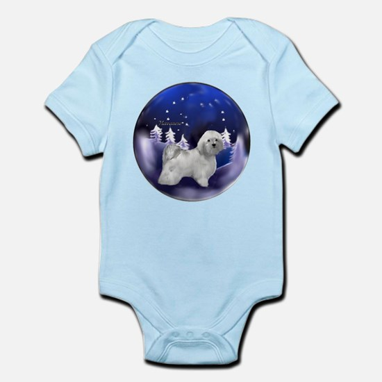 Havanese Christmas Infant Bodysuit