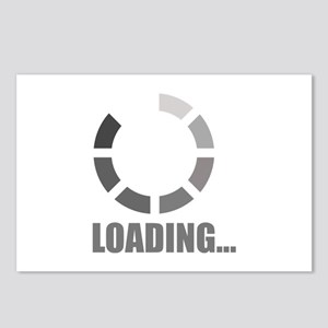 Loading bar Postcards (Package of 8)