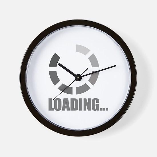 Loading bar Wall Clock