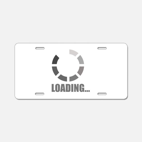 Loading bar Aluminum License Plate