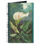 Peace Lily Victorian Print Vi Journal