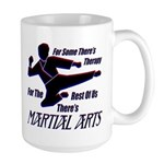 Martial Arts Therapy Large Coffee Cup