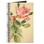 Pink Rose Victorian Flower Vi Journal