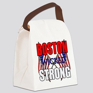 Boston wicked Strong 2 Canvas Lunch Bag