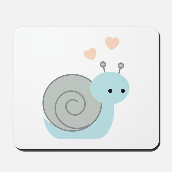 Lovely Snail Mousepad