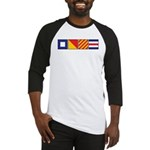 POYC Nautical Flags Baseball Jersey