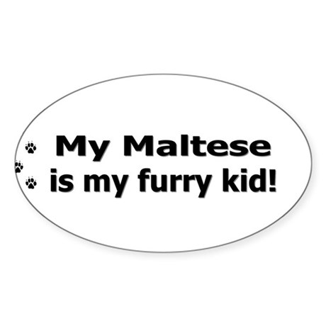 furrykid_maltese Sticker