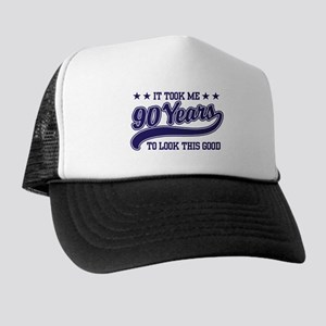 Funny 90th Birthday Trucker Hat