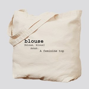 Blouse Definition Tote Bag