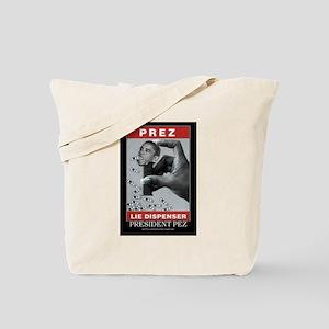 President Pez Lie Dispenser Tote Bag