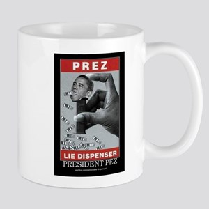 President Pez Lie Dispenser Mug