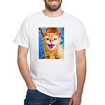 Krazy Kitten White T-Shirt