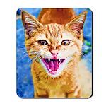 Krazy Kitten  Mousepad