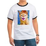 Krazy Kitten  Ringer T
