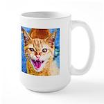 Krazy Kitten  Large Mug