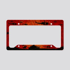 Harvest Moons 1st Cavalry License Plate