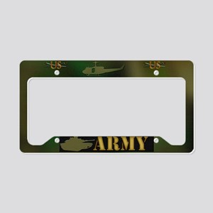 Harvest Moons Army License Plate Holder