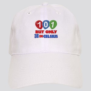 101 year old designs Cap