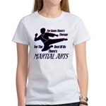Martial Arts Therapy Women's T-Shirt