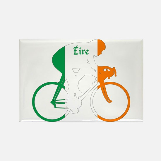 Irish Cycling Rectangle Magnet