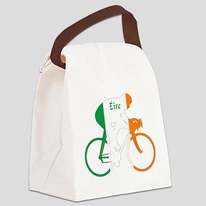 Irish Cycling Canvas Lunch Bag