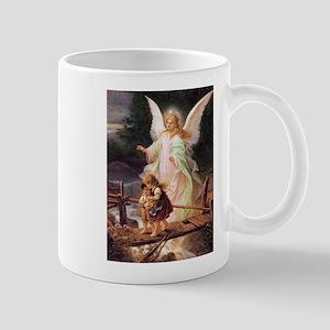 Guardian Angel with Children on Bridge Mug