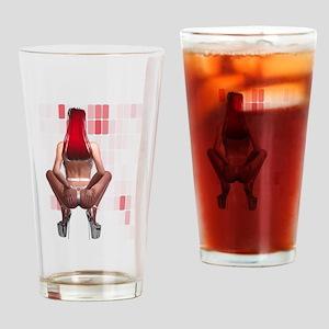 Latex Ponygirl Drinking Glass