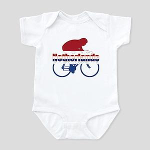 Netherlands Cycling Infant Bodysuit