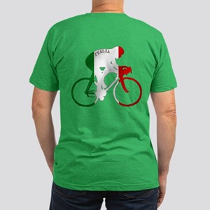 Italian Cycling Men's Fitted T-Shirt (dark)