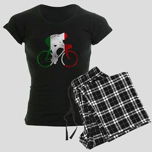 Italian Cycling Women's Dark Pajamas