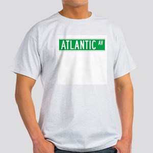 Atlantic Ave., New York - USA Ash Grey T-Shirt